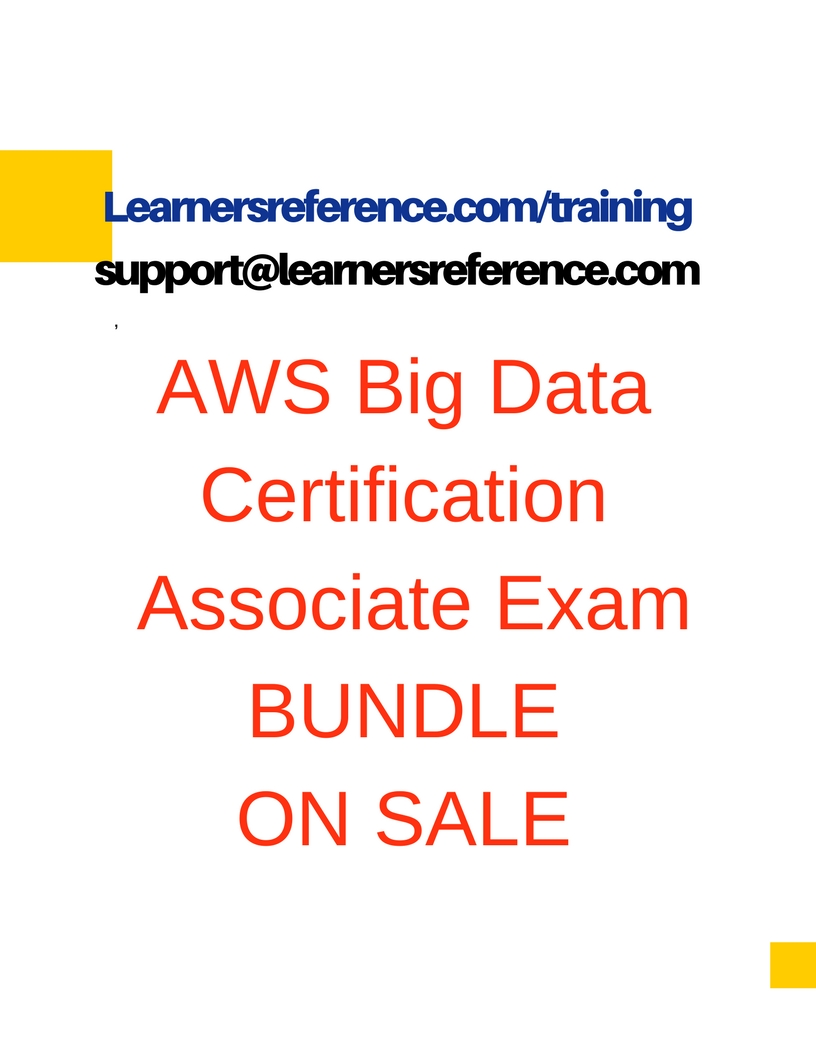 Bigdata Certification Exam Bundle Learnersreference